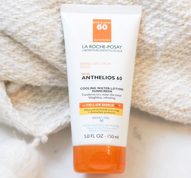 Facial sun cream for acne prone skin