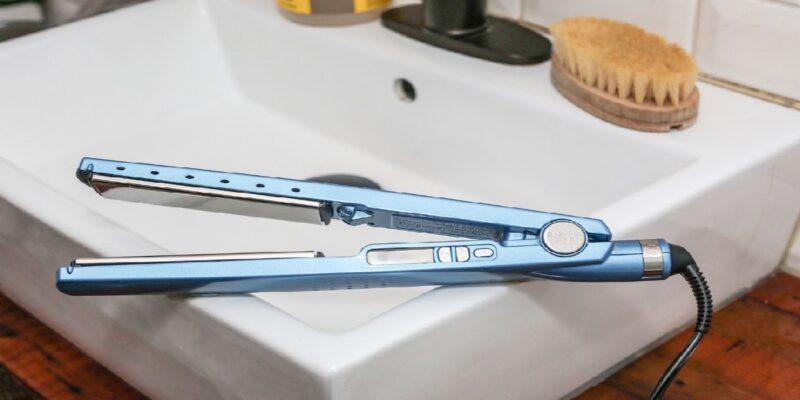 titanium flat iron