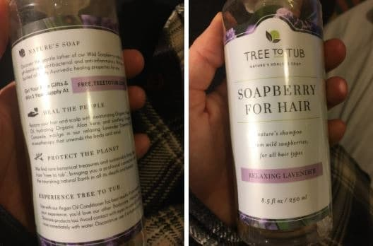 soapberry for hair
