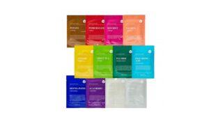 Dermal Color Facial Essence Sheet Mask Set