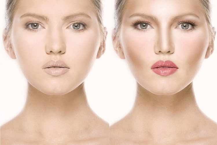 How do you contour your nose step by step?